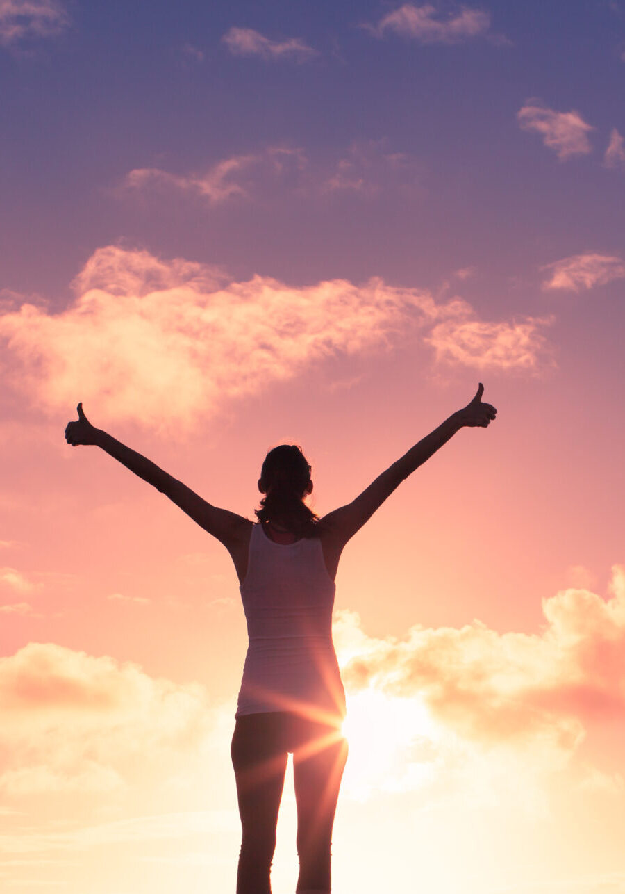 Victory!,Feeling,Positive,And,Full,Of,Joy.